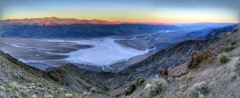 Free Stock Photo of Landscape in Death Valley California Created by agphotostock.com