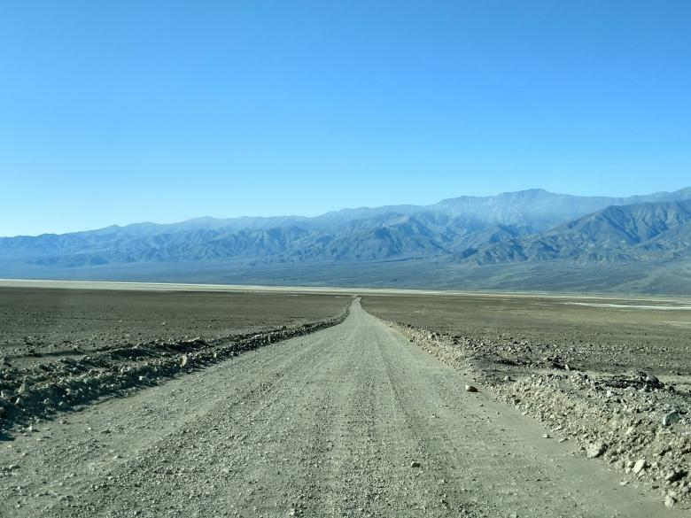 Free Stock Photo of Death Valley Dirt Road Created by agphotostock.com