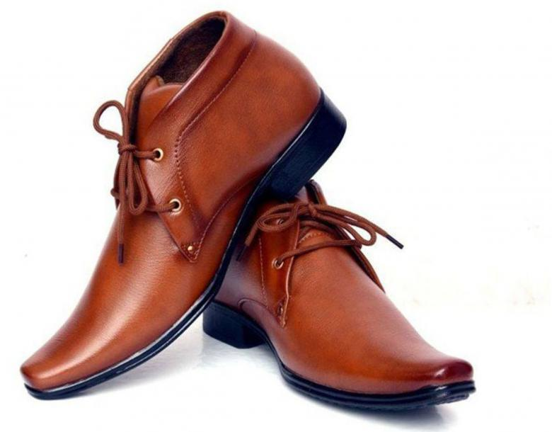 Free Stock Photo of Classic Brown Male Leather Shoes Created by shiv Kumar