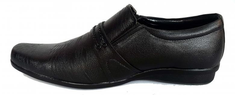 Free Stock Photo of Dark Brown Male Leather Shoe - Side View Created by shiv Kumar