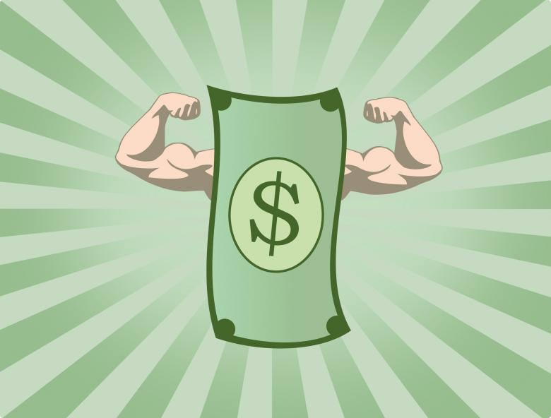 Free Stock Photo of The Mighty Dollar - The Power of Money Created by Jack Moreh