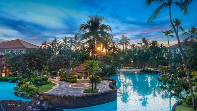 Free Stock Photo of Lagoon View Resort in bali, Indonesia Created by wiwin wijayanto