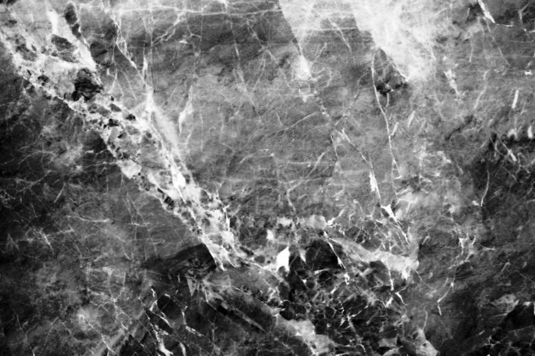 Black And White Marble Texture Free Stock Photo
