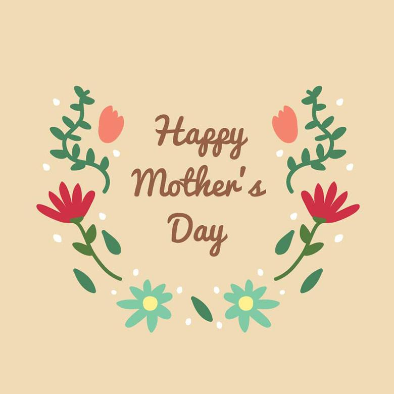 Free Stock Photo of Lettering for Mother's Day - Illustration Created by Sara