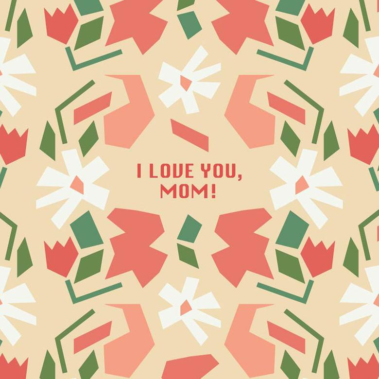 Free Stock Photo Of Cute Background With A Message For Your Mom Created By Sara