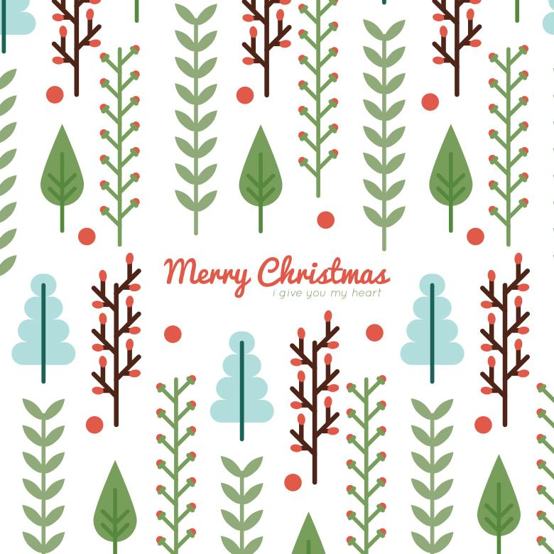 Free Stock Photo of Christmas Background Illustration Created by Sara