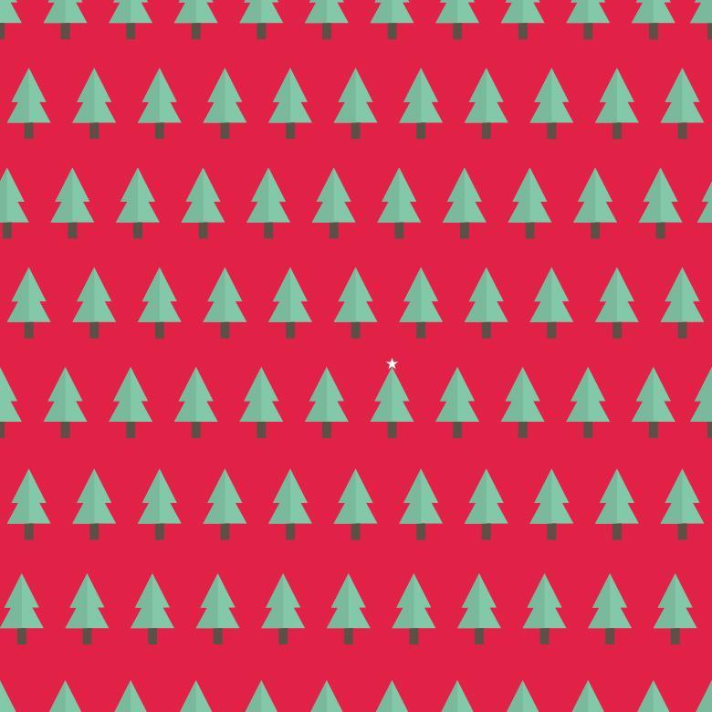 Christmas tree pattern - Free Christmas Illustrations