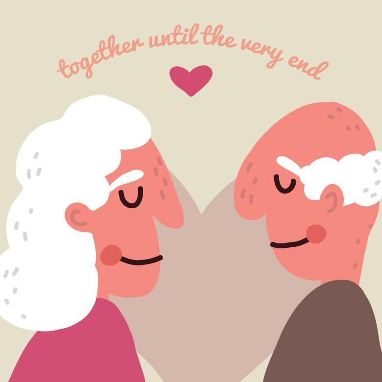 Free Stock Photo of Elderly Love Created by Sara