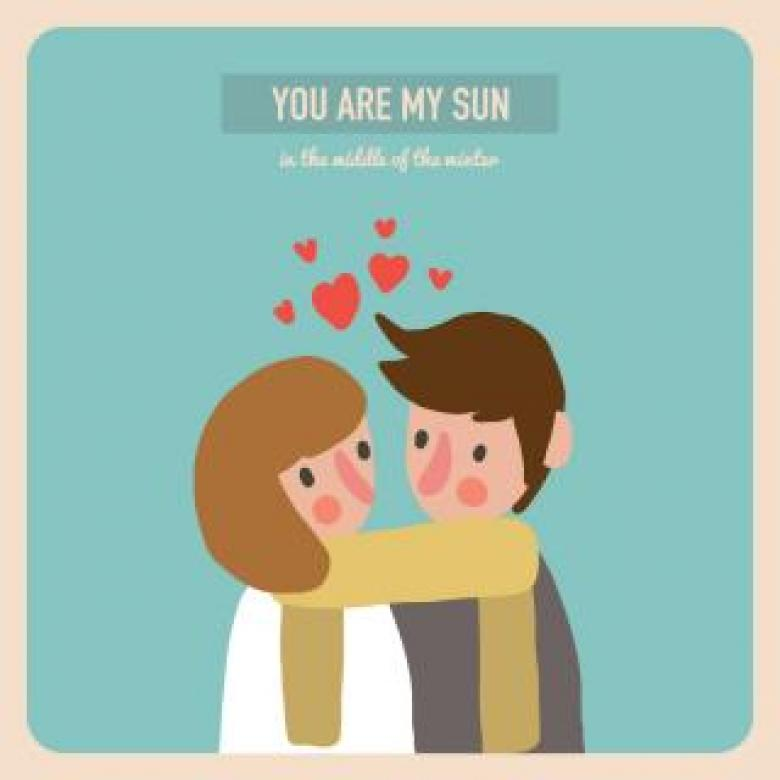 Free Stock Photo of You are my Sun Created by Sara