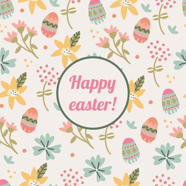 happy easter pattern free stock photo by sara on stockvault net