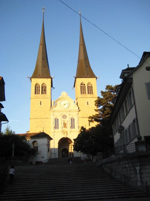Free Stock Photo of Church in Luzern Created by VIJOY M ALEXANDER
