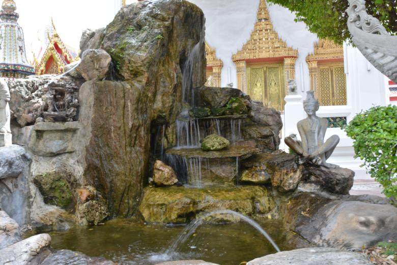 Free Stock Photo of Asian Fountain Created by Batu Berk