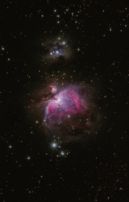 Free Stock Photo of Orion Nebula Created by Alex Andrews