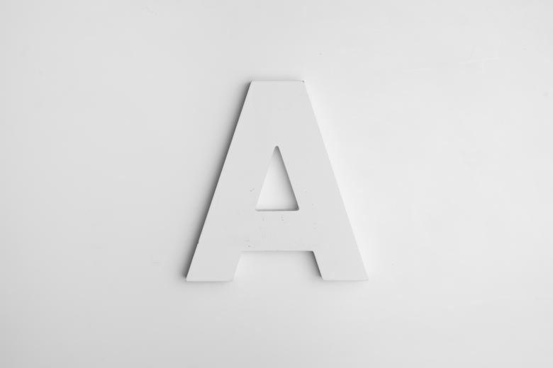 Free Stock Photo of Letter A Created by Alex Andrews