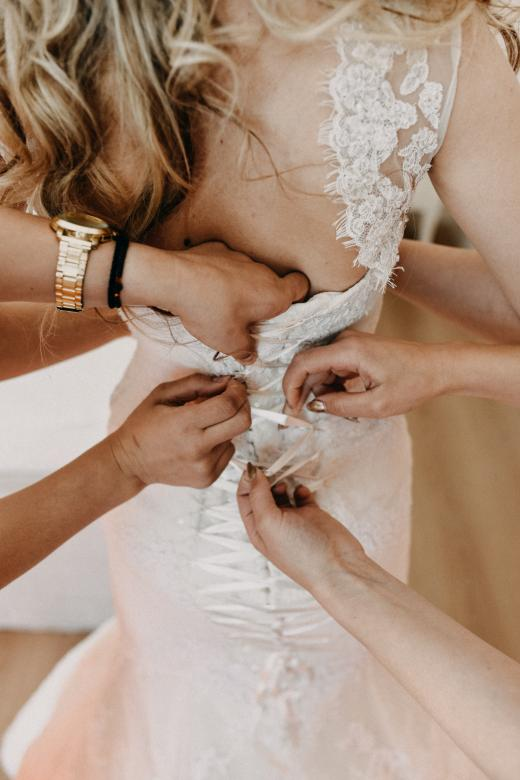 Free Stock Photo of Bride Getting Ready Created by Batu Berk