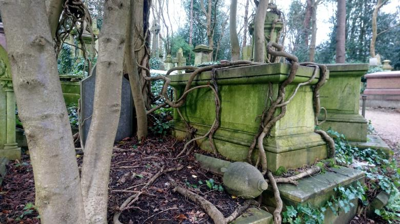Free Stock Photo of Highgate Cemetery Created by Eric Lund