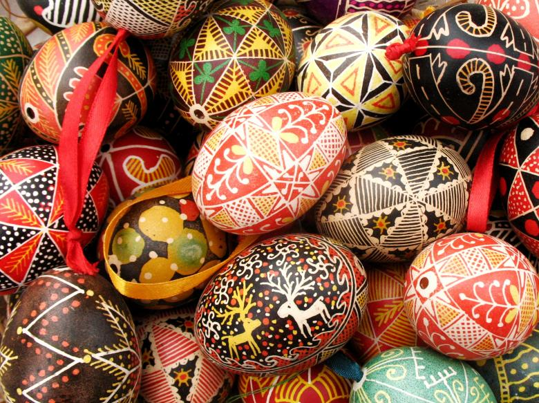 Colorful Easter Eggs - Free Easter Stock Photos & Vectors