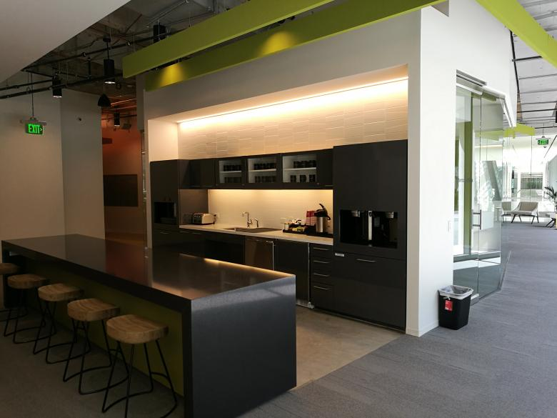 Free Stock Photo of Modern office kitchenette in Houston Texas Created by frhuynh