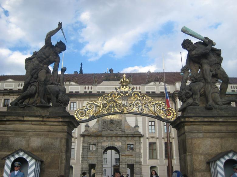 Free Stock Photo of Prague Gate Monument Created by VIJOY M ALEXANDER