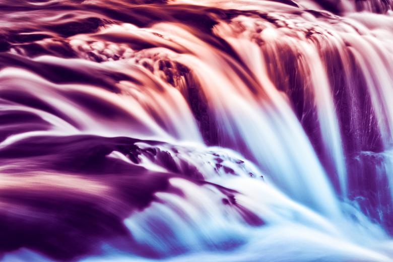 Free Stock Photo of Kolufoss Color Leaks Created by Nicolas Raymond