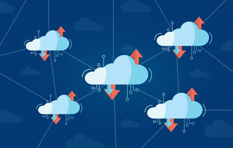 Interconnected Virtual Cloud Concept with Multiple Clouds