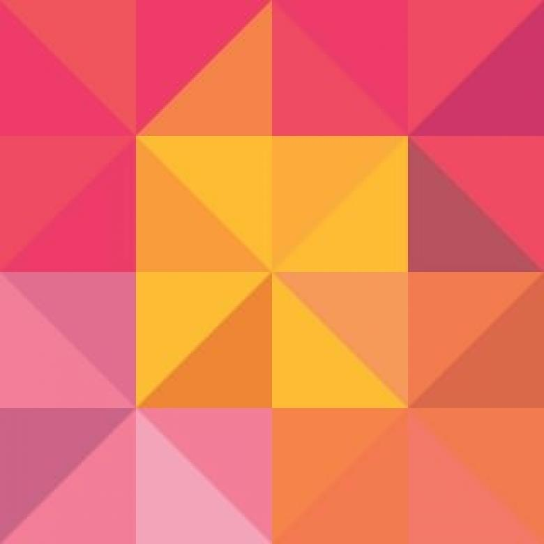 Free Stock Photo of Pink, Yellow And Orange Vector Background Created by Sara