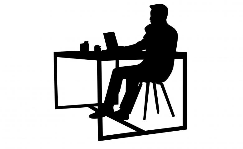 businessman silhouette free stock photo by mohamed hassan on
