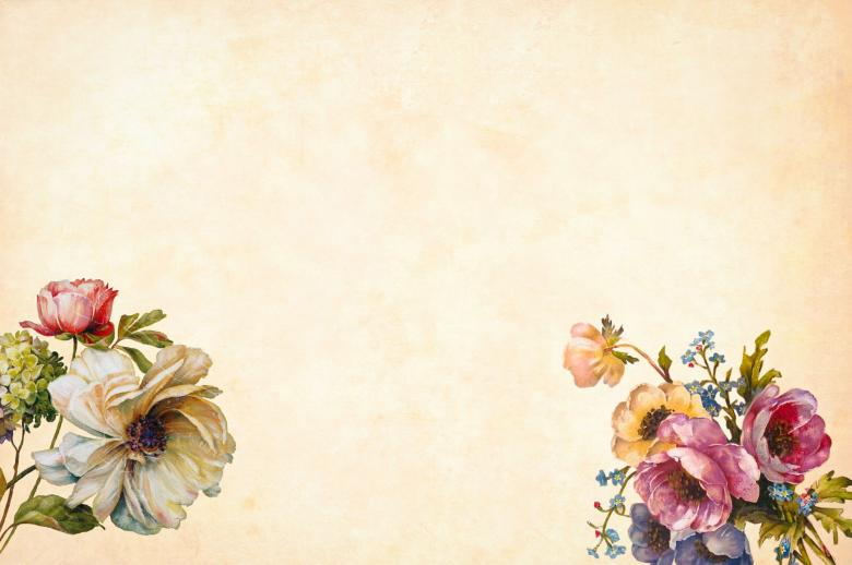 Free Stock Photo of Vintage Floral Illustration Created by mohamed hassan