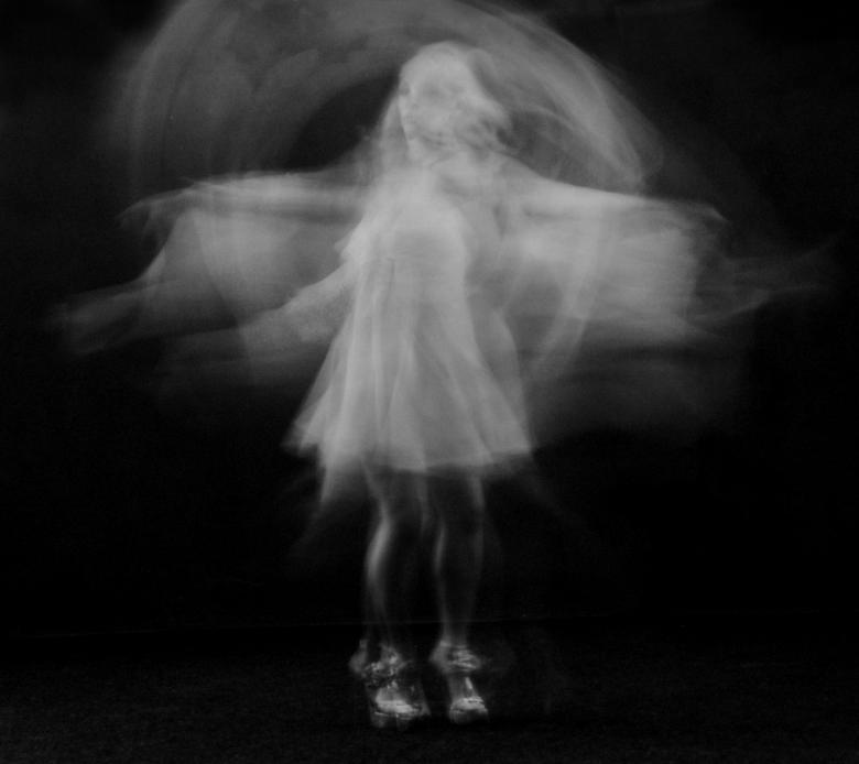 Free stock image of Multiple Exposure of Dancing Woman created by Alexander Krivitskiy