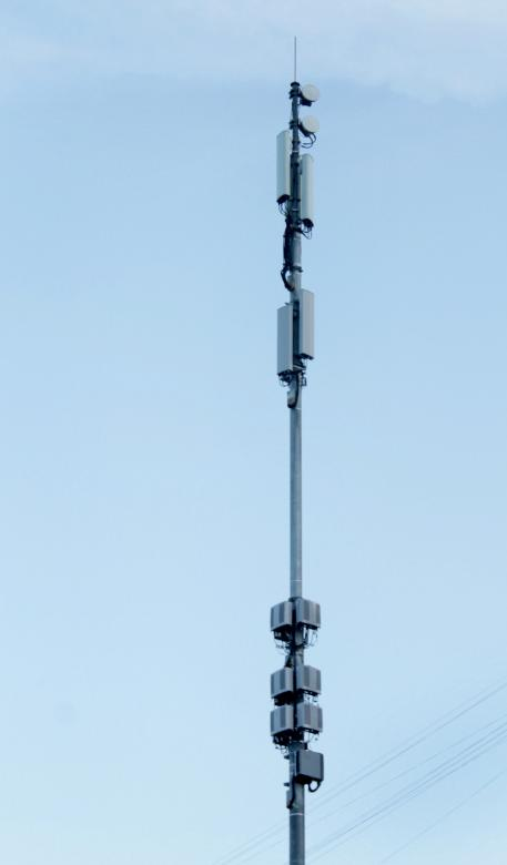 Free Stock Photo of Base station - Tower in the sky Created by NomeVizualizzato