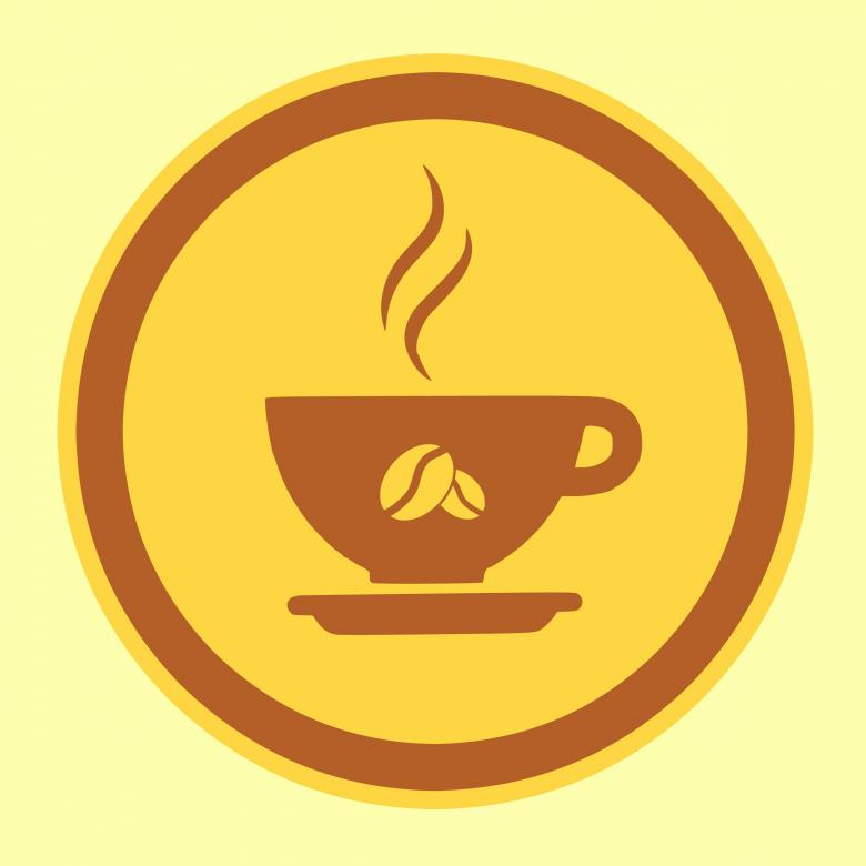 Free Stock Photo of Coffee Icon Created by mohamed hassan