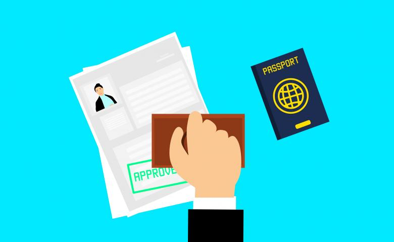 Free Stock Photo of Visa Approved Created by mohamed hassan