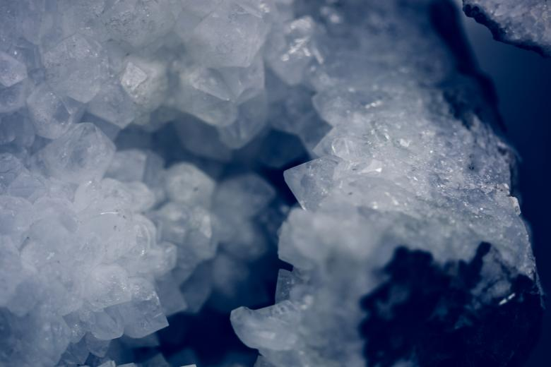 Free Stock Photo of Icy Crystal Texture Created by Free Texture Friday