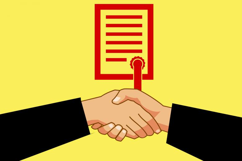 Free stock image of Business Agreement created by mohamed hassan
