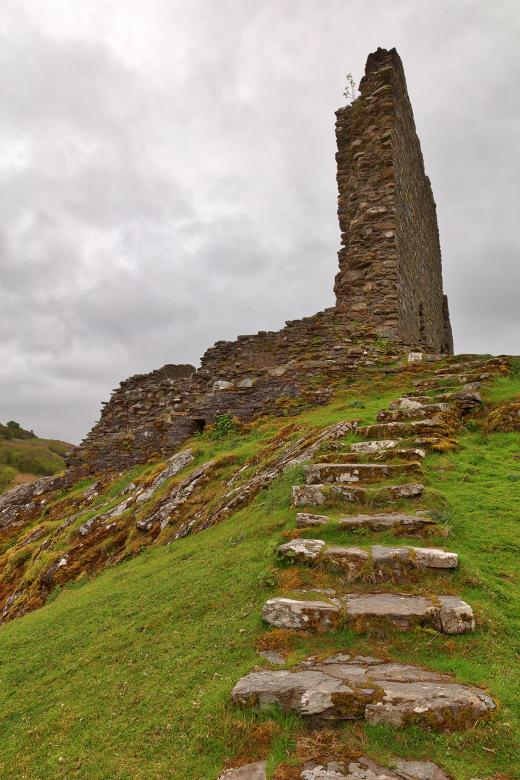 Free Stock Photo of Dolwyddelan Step Castle Ruins Created by Nicolas Raymond