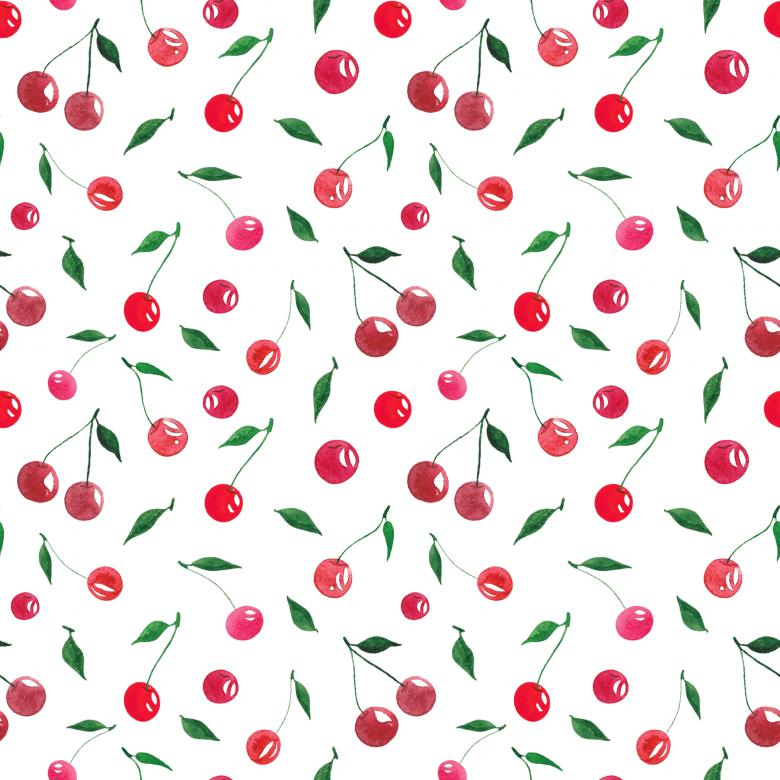 Free Stock Photo of Seamless cherry pattern Created by gingemar