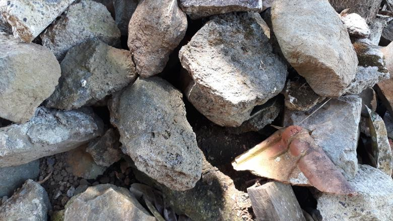 Free Stock Photo of Pile of Rock Debris Created by bang doel