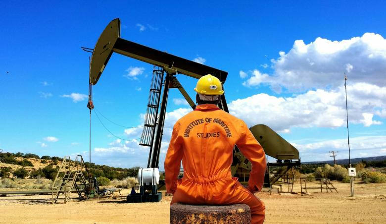 Oil Rig Engineer - Free Industrial Stock Photos