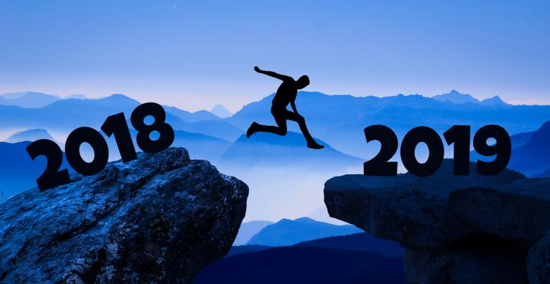 Free Stock Photo of Reaching a New Year - 2018 to 2019 Created by mohamed hassan