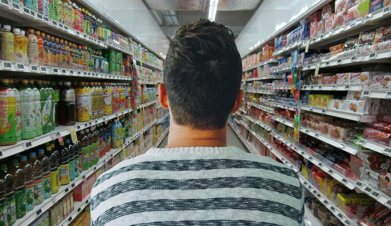 Free Stock Photo of Man in Grocery Store Created by mohamed hassan