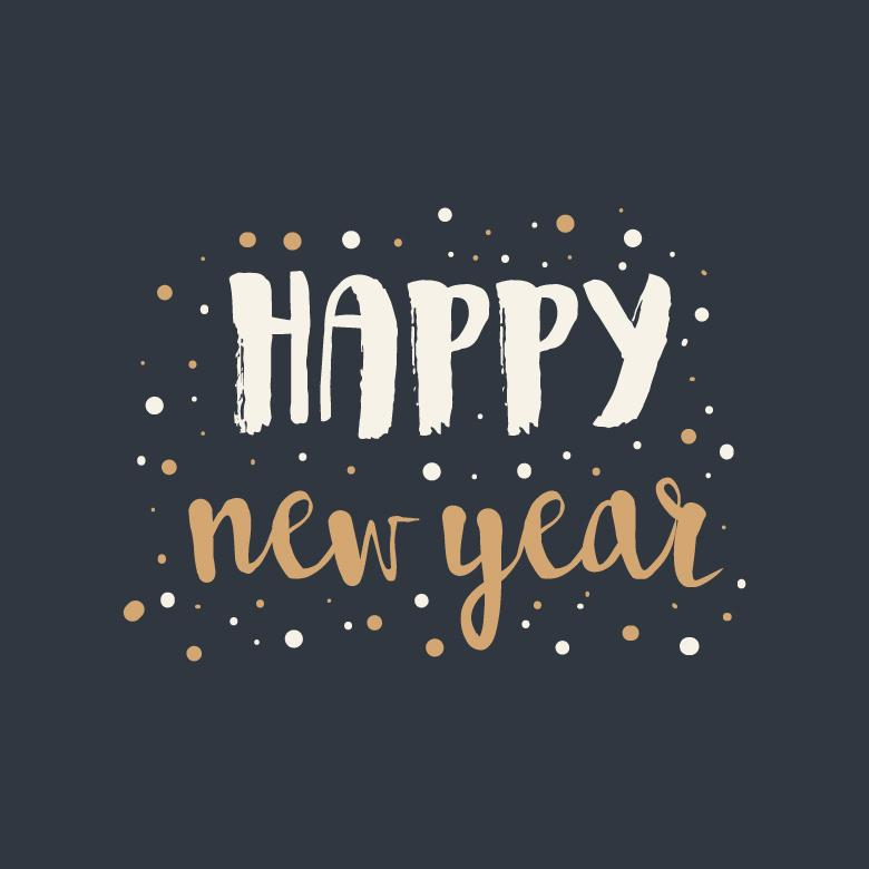 Free stock image of Cute Lettering For New Year created by Sara