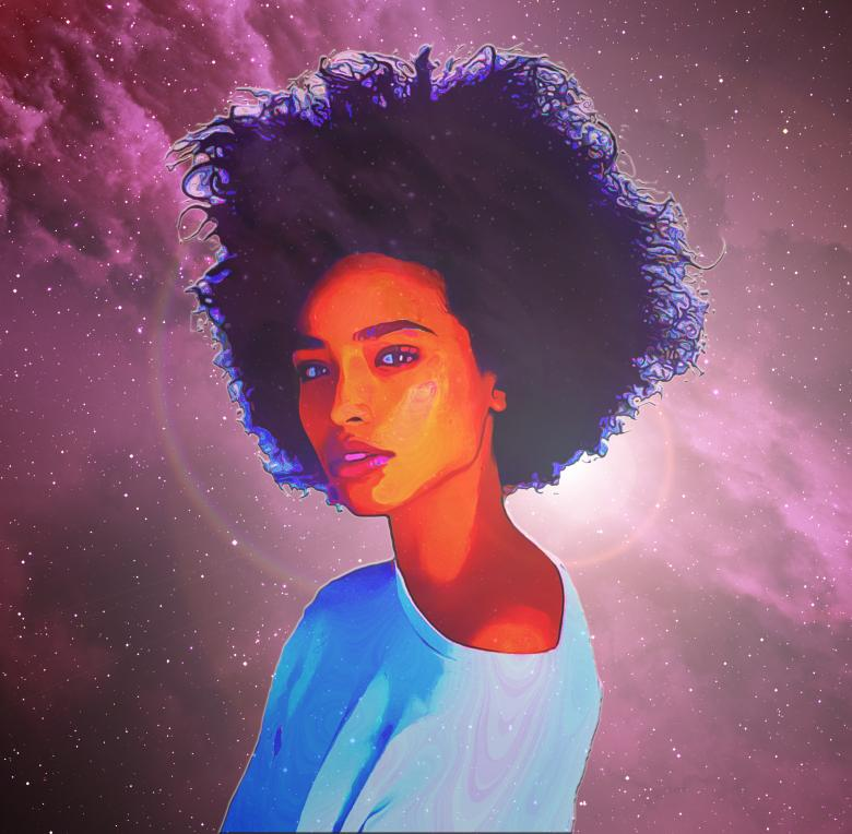 Free Stock Photo of Cosmic Hair Created by archy-one