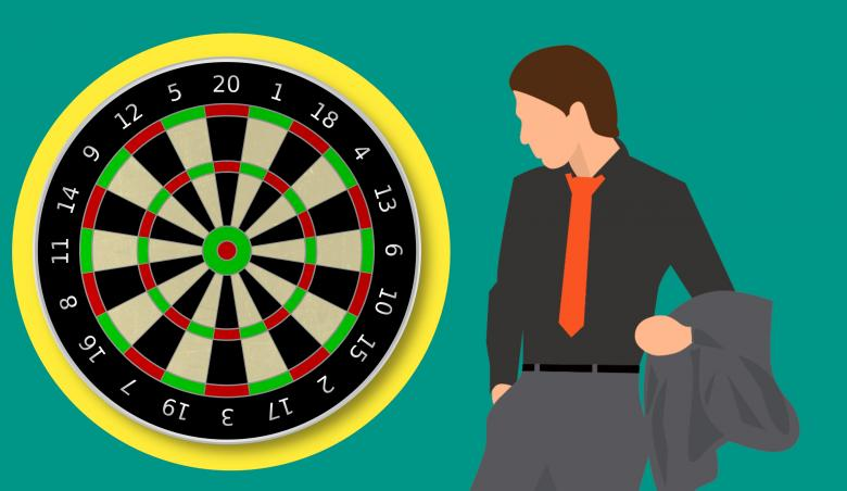 Free Stock Photo of Dartboard Games Illustration Created by mohamed hassan