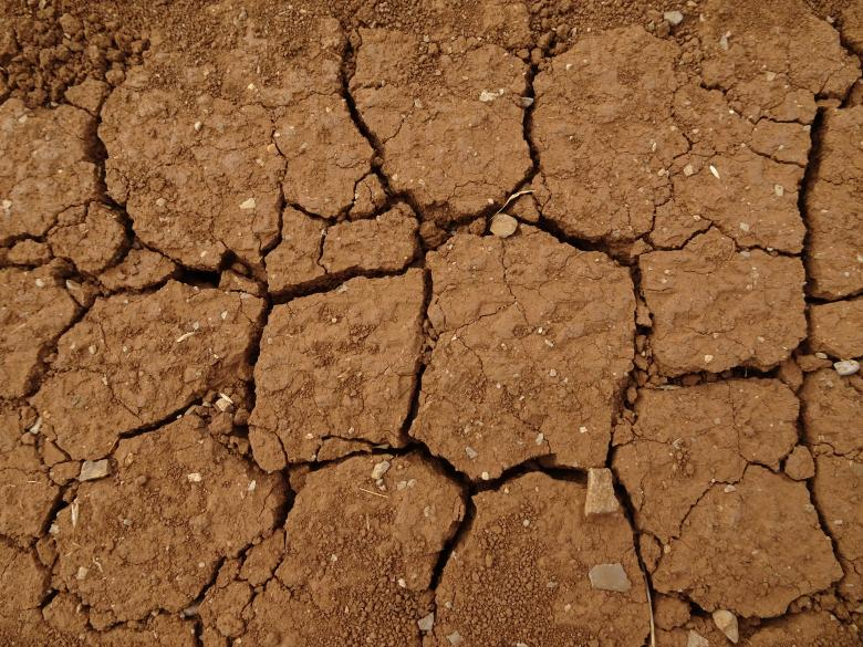 Free Stock Photo of Dry soil texture Created by GAIMARD Jacques
