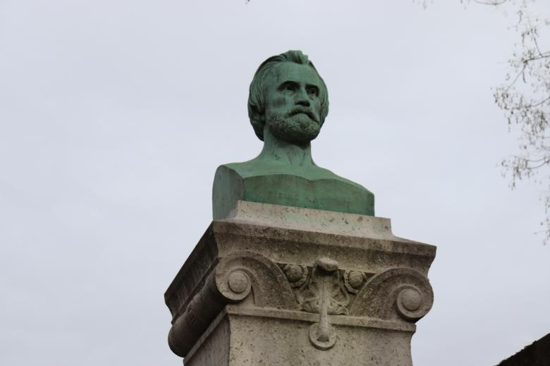 Free Stock Photo of Bust sculpture of famous person Created by GAIMARD Jacques