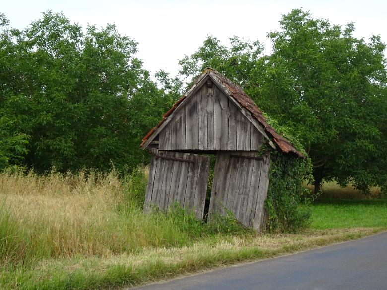 Free Stock Photo of Very rotten, little house on the prairie !!! Created by GAIMARD Jacques