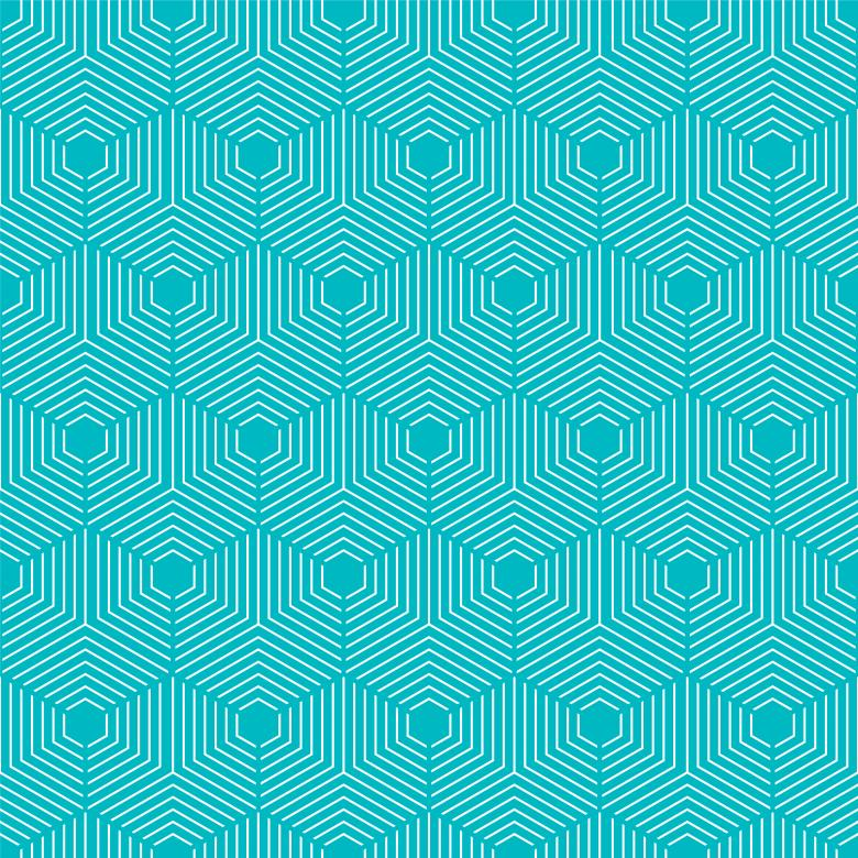 Free Stock Photo of Blue Geometric Seamless Pattern Created by Sos