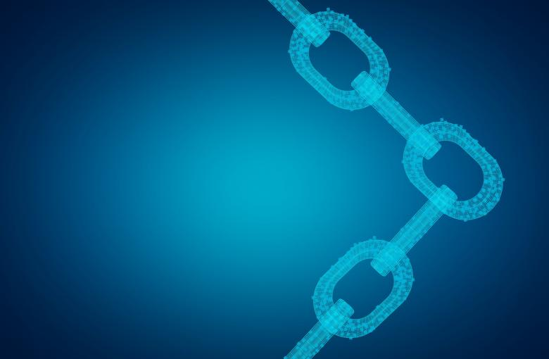 Free Stock Photo of Block Chain Network - Distributed Ledger Technology - Digital Chains Created by Jack Moreh