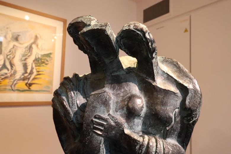 Free Stock Photo of Ossip Zadkine bronze sculpture Created by GAIMARD Jacques