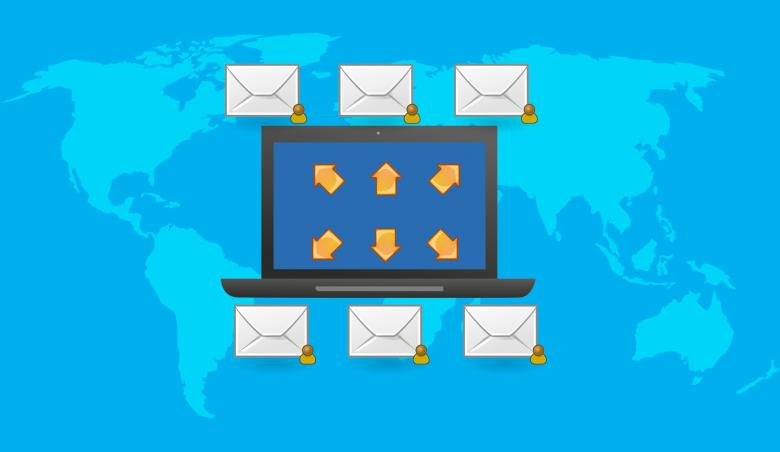 Free Stock Photo of Email Marketing Illustration Created by mohamed hassan